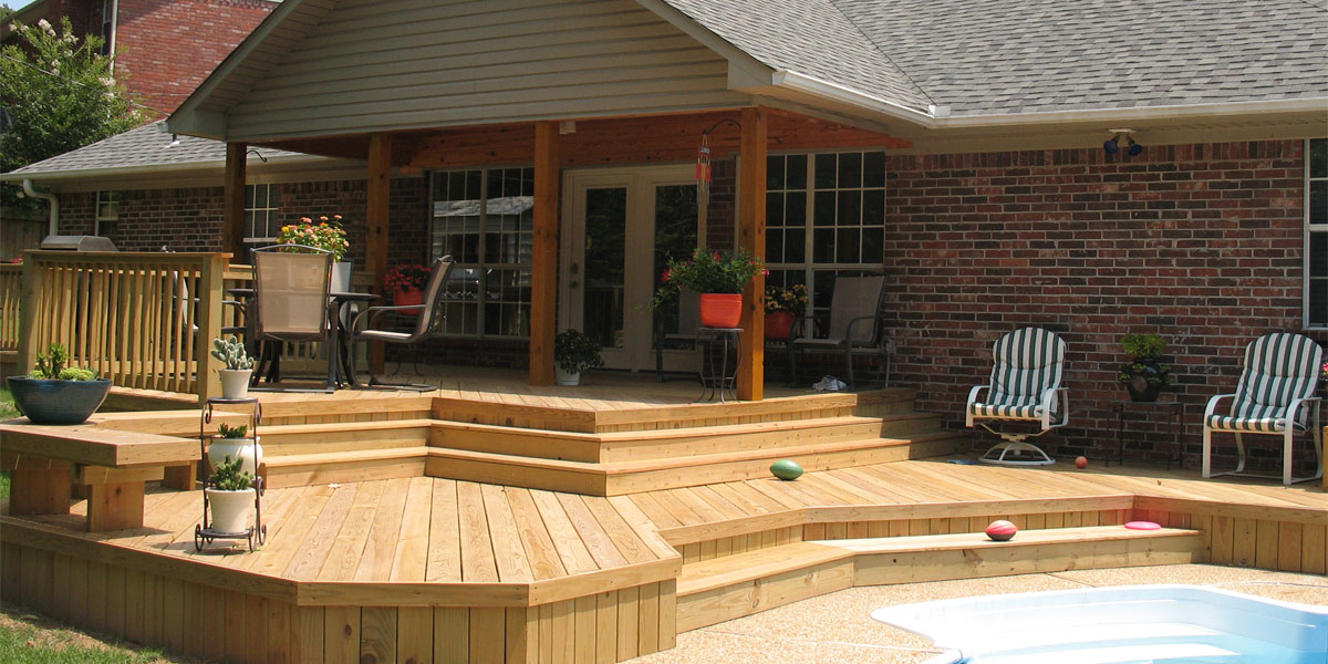 Construction Contractor: Decks, Out Buildings, Additions ... on Patio With Deck Ideas id=53475